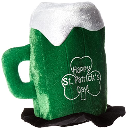 - Beistle 30712 Plush St.Patrick's Day Beer Mug Hat