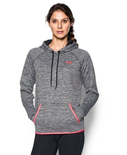 Under Armour Women's Storm Armour Fleece Icon Twist Hoodie, Black (003), Large