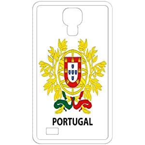 Portugal - Country Coat Of Arms Flag Emblem White Samsung Galaxy S4 i9500 Cell Phone Case - Cover