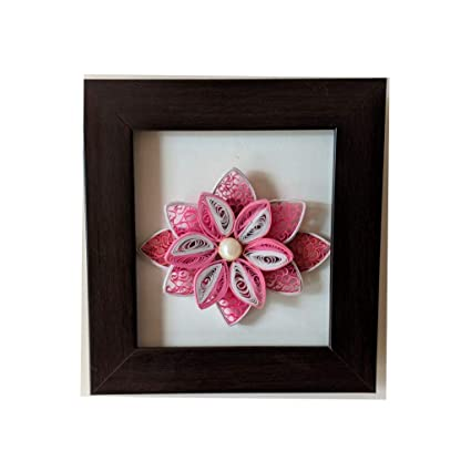 Buy Generic Lotus Quilling Flower Wall Decor 7 X 65 X 05 Inches