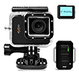 eXpo Sports Action Camera 1080P HD Underwater Camcorder Wifi Remote 20 MP 2.0