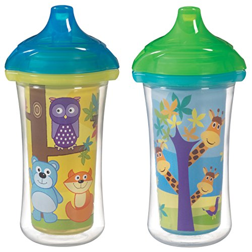 - Munchkin Click Lock 2 Count Insulated Sippy Cup, 9 ounce