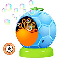 UTTORA Automatic Bubble Machine Toy for Kids,Durable Bubble Blower More Than 500 Bubbles Per Minute for Party and Gift 4 AA Battery Operated (Not Include) by UTTORA