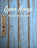 img - for Open House Registration Book: Real Estate Agent Guest & Visitors Signatures Sign In Registry - Show Homes, Property Developers, Interior Designers book / textbook / text book