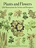 img - for Plants and Flowers: 1761 Illustrations for Artists and Designers (Dover Pictorial Archive) book / textbook / text book