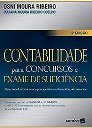 Contabilidade para concursos e exame de suficiência: Dos conceitos básicos aos principais temas dos editais de