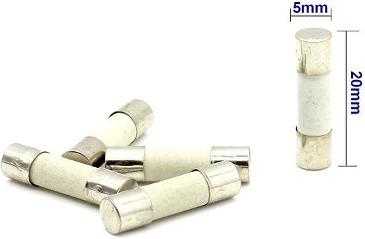Fusible Céramique  5x20 Rapide 4A//250V