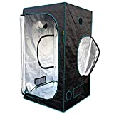 MarsHydro 3' 3'' x3' 3'' x5' 11'' Reflective Mylar Hydroponic Grow Tent for Indoor Plant Growing