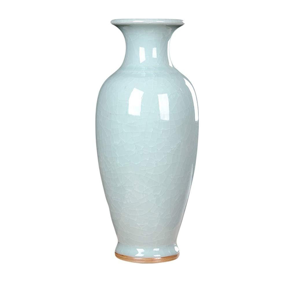 花瓶エナメル花瓶ホーム花の装飾品リビングルームの装飾花瓶現代のミニマリストセラミックオフィスの装飾品 LQX (Edition : B) B07SHDN5TL  B