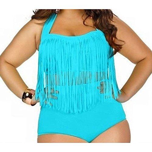 Maillot de bain Id¨¦al pour Femme-Bikini Sexy Push up Bra -Multicolore