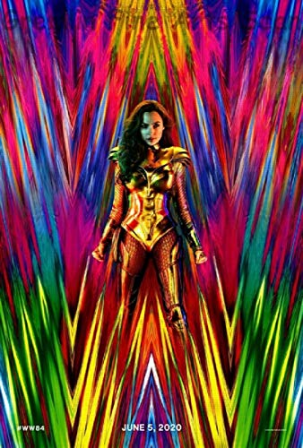 Wonder Woman 1984: Theatrical Release Movie Poster June 2020- DC Comics/Warner Bros.
