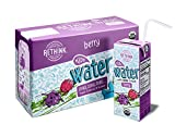 Rethink Kids Water, Flavored Water, Zero Sugar, Zero Calorie, Zero Sodium, 100% Recyclable, 200 mL Carton, Pack of 32 (Berry)