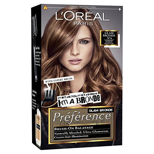 L Oreal Preference Glam Highlights 04 Hair Dye For Brown Hair