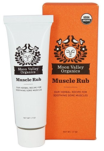 Organic Sore Muscle Rub - Moon Valley Organics, Muscle Rub Organic, 1.7 Ounce