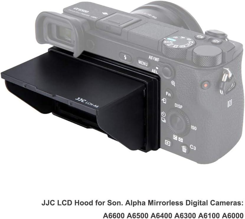 Jjc Lcd Gegenlichtblende Für Sony Alpha A6600 A6500 Kamera