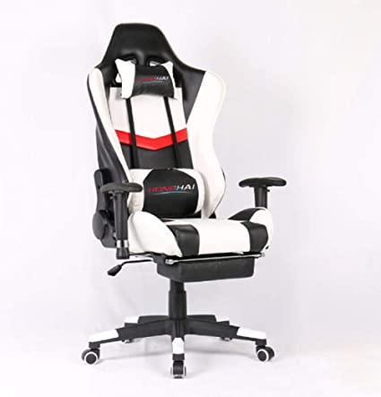 Amazon Com Gaming Chair High Back Pu Leather Office Chair Computer