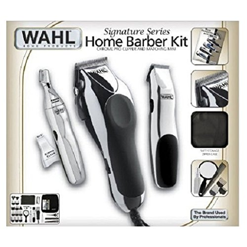 Wahl 30 Piece Hair Cut Home Barber Kit Trimmer Clipper Signa