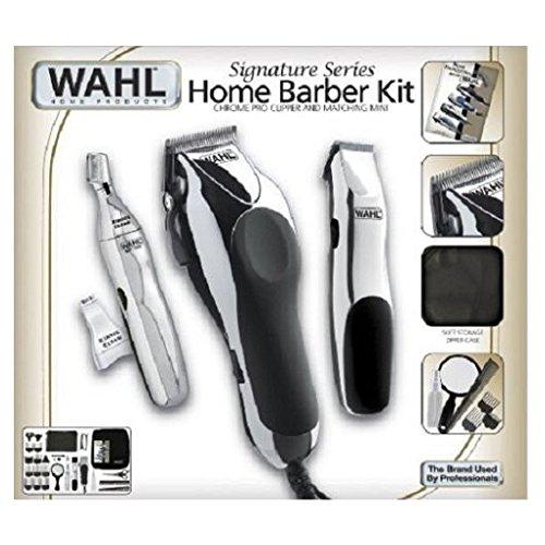 Wahl 30 Piece Hair Cut Home Barber Kit Trimmer Clipper Signature Series Haircut