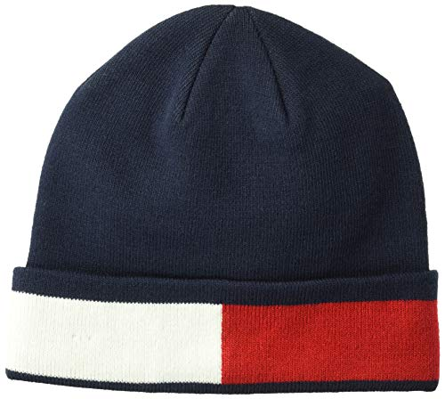 Tommy Hilfiger Mens Cold Weather Cuffed Beanie