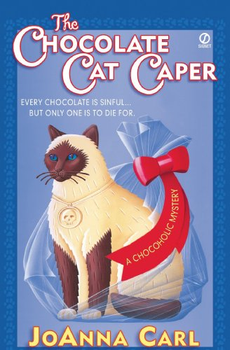 The Chocolate Cat Caper (Chocoholic Mystery Book 1) cover