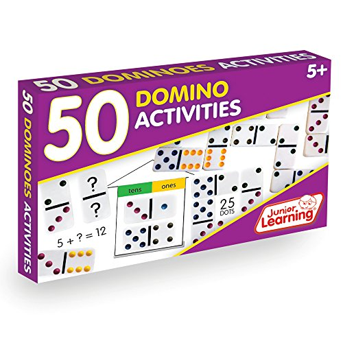 Junior Learning 50 Dominoes Activites Educational Action Games