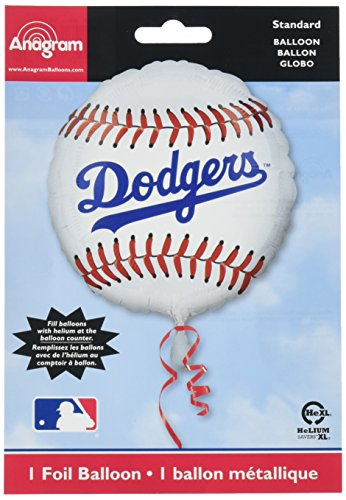 Anagram International Hx Los Angeles Dodgers Package Party Balloons, Multicolor