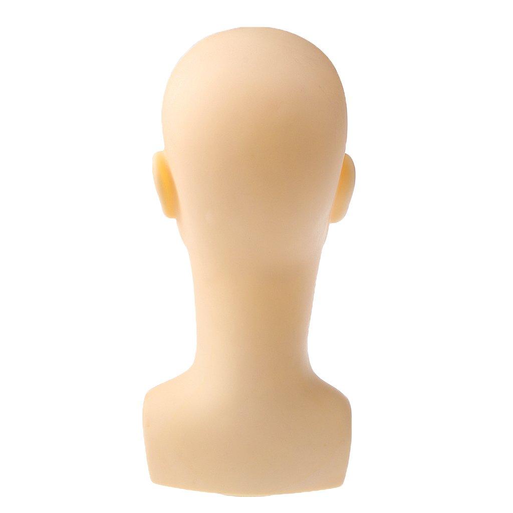 Maniquí Calvas Hombres Cabeza Bufanda Pelucas Del Casquillo Del Sombrero Estante Del Soporte De Exhibición Generic