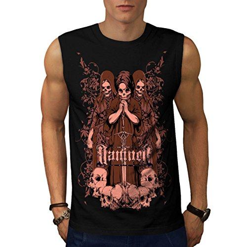 Damned Ghost Hell Horror Child Men NEW S Sleeveless T-shirt | Wellcoda