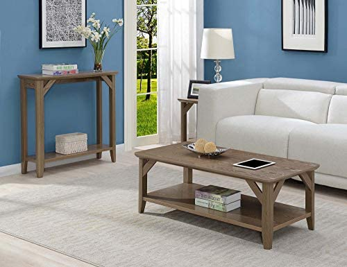 Convenience Concepts Winston Coffee Table, Driftwood