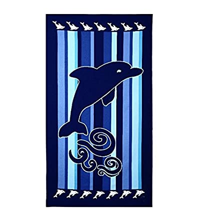Animal Printting Beach Bath Towel Extra Large Microfiber Towel For Swim Beach Chair Cover DECHO-C
