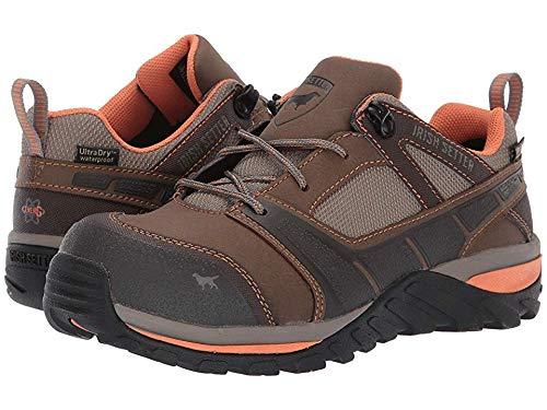 Irish Setter Women's Rockford Oxford Non-Metallic Safety Toe Brown/Peach 7 D US
