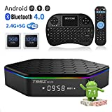 EASYTONE T95Z Plus Android TV Box 3GB 32GB,Android 7.1 TV Box Amlogic Octa-Core,Dual-B