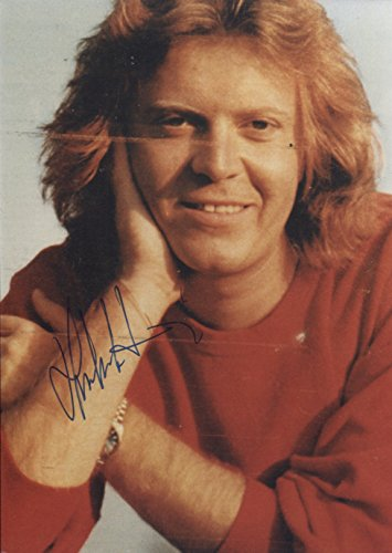 Umberto Tozzi autograph, Italian pop/rock singer and ()