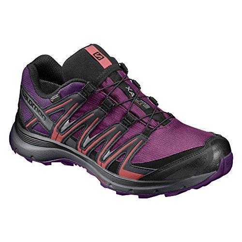 Salomon Xa Lite Gtx W, Zapatillas de Trail Running para Mujer, Morado (Grape Juice/Acai/Phantom), 36 EU