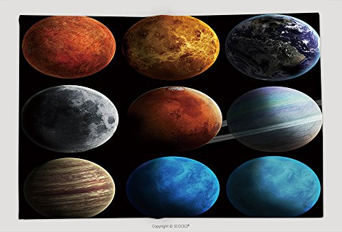Supersoft Fleece Throw Blanket Solar System And Space Objects Elements Of This Image Furnished By Nasa 149368982 by vanfan