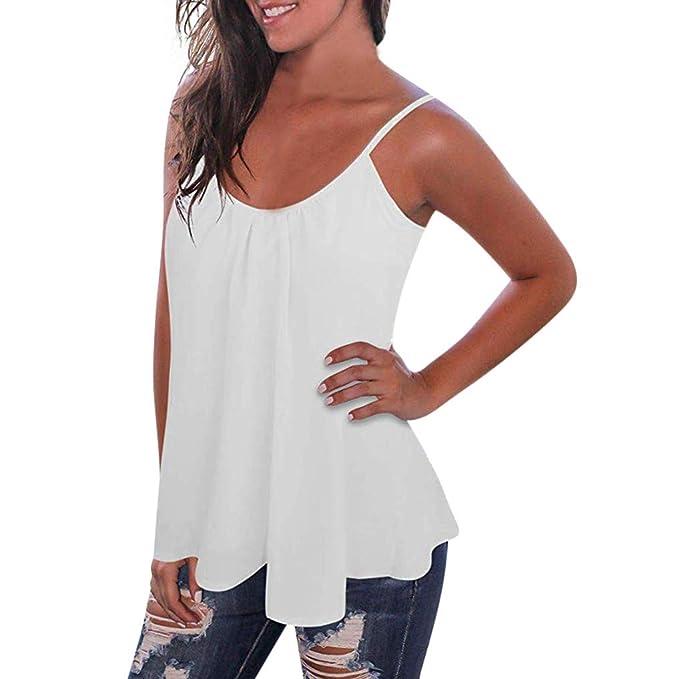Darringls_camisetas para Mujer,Camisetas de Tirantes de ...