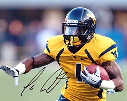 Image Unavailable. Image not available for. Color  Tavon Austin  Signed Autographed West Virginia Mountaineers ... cf7c33367