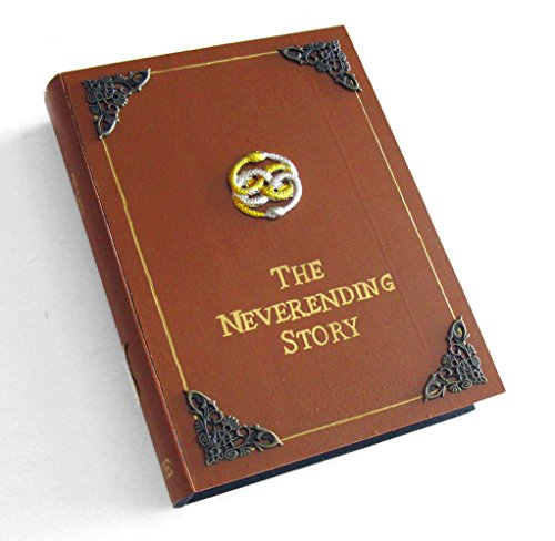 The Neverending Story book hideaway box. Unique & hand decorated