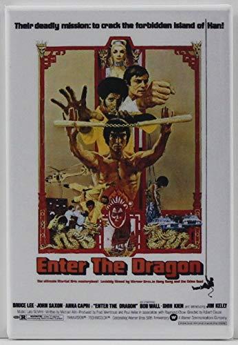 Enter the Dragon Refrigerator Magnet.