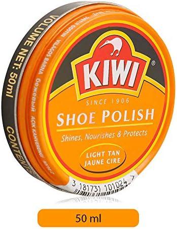 Kiwi Shoe Polish - 50 ml, Light Tan