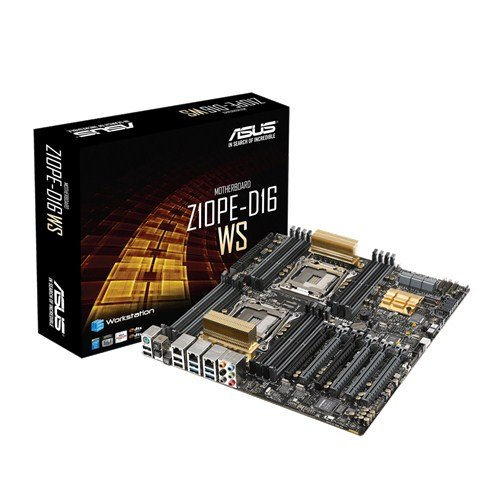 ASUS Z10PE-D16 WS LGA2011-v3/ Intel C612 PCH/ DDR4/ Quad CrossFireX and 3-Way SLI/ SATA3&USB3.0/ M.2/ A&V&2GbE/ EEB Server Motherboard by Asus (Image #3)