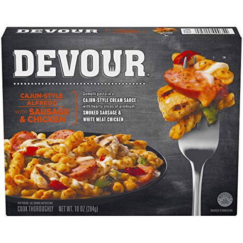 Devour Cajun-Style Alfredo With Sausage & Chicken, 10 oz Box