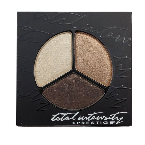(Prestige Cosmetics Total Intensity Bold Trio Eyeshadow, Mirage, 0.09 Ounce)