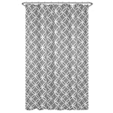 Best Maytex Beddings - Maytex Emma Fabric Shower Curtain, Grey, 70 X Review