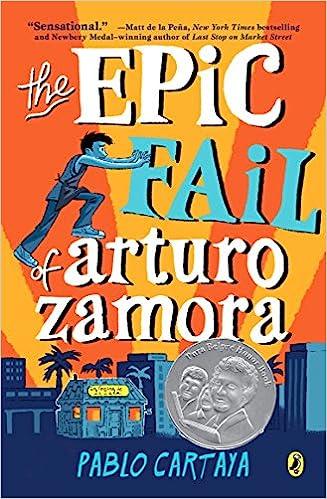 cover, The Epic Fail of Arturo Zamora