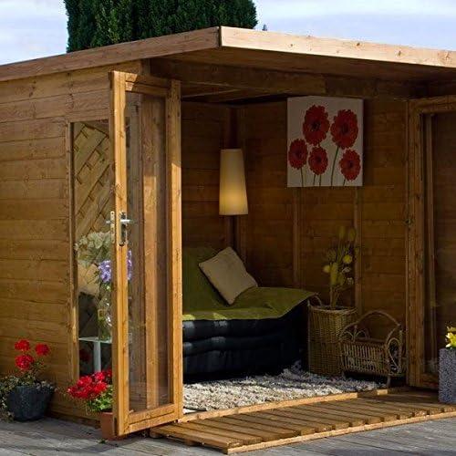 Nova 10 x 8 Cambridge verano casa con Side cobertizo – Entrega rápida verano Casas – Verano casas: Amazon.es: Jardín