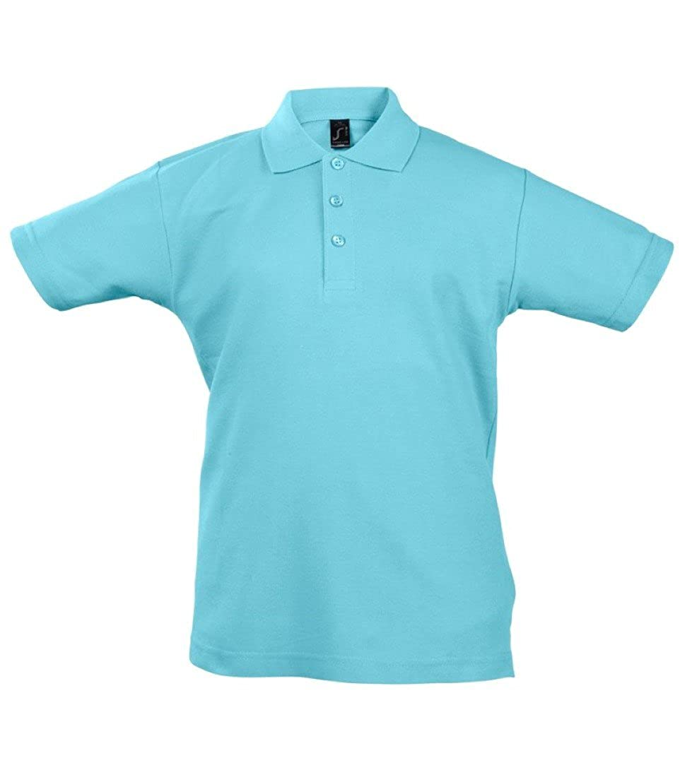 SOLS Kids Summer II Pique Short Sleeve Polo Shirt