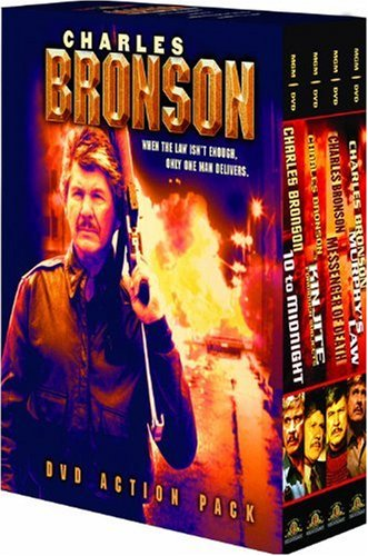 Charles Bronson Action Pack (Kinjite / Messenger of Death / Murphy's Law / 10 to Midnight) by BRONSON,CHARLES