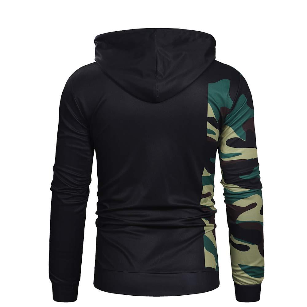 Mens Hooded Creative Digital Print Handwritings Pattern Pullover Casual Sweatshirt Hoodies