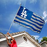 MLB Los Angeles Dodgers Nation Flag 3x5 Banner
